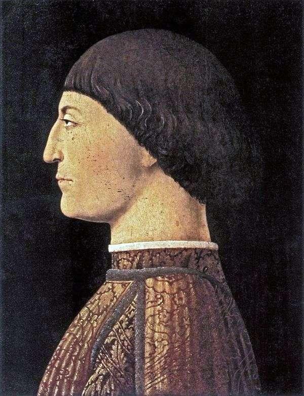 Портрет Сиджизмондо Малатеса   Пьеро делла Франческа