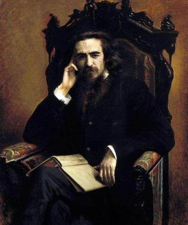Портрет Соловьева   Иван Крамской