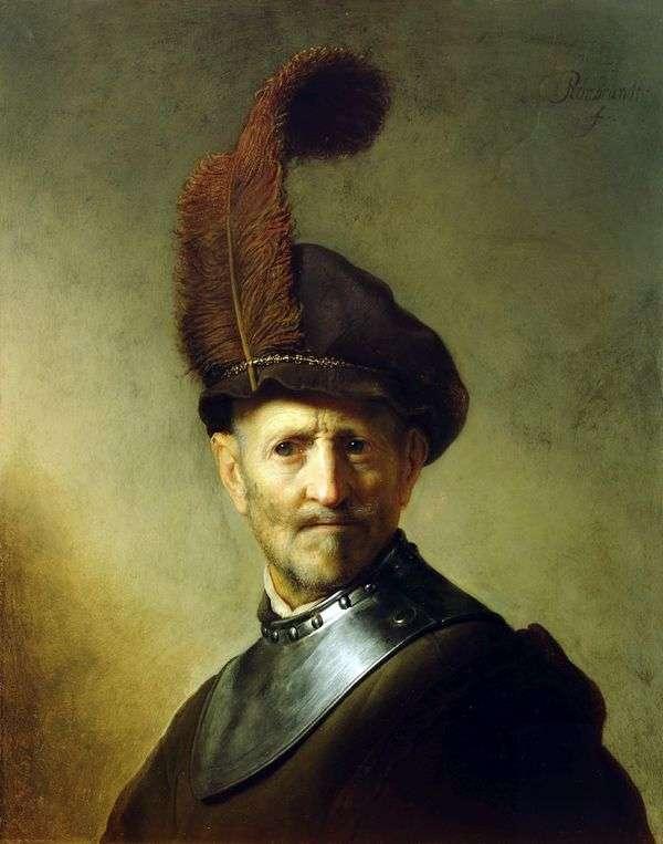 Портрет старого воина   Рембрандт Харменс Ван Рейн