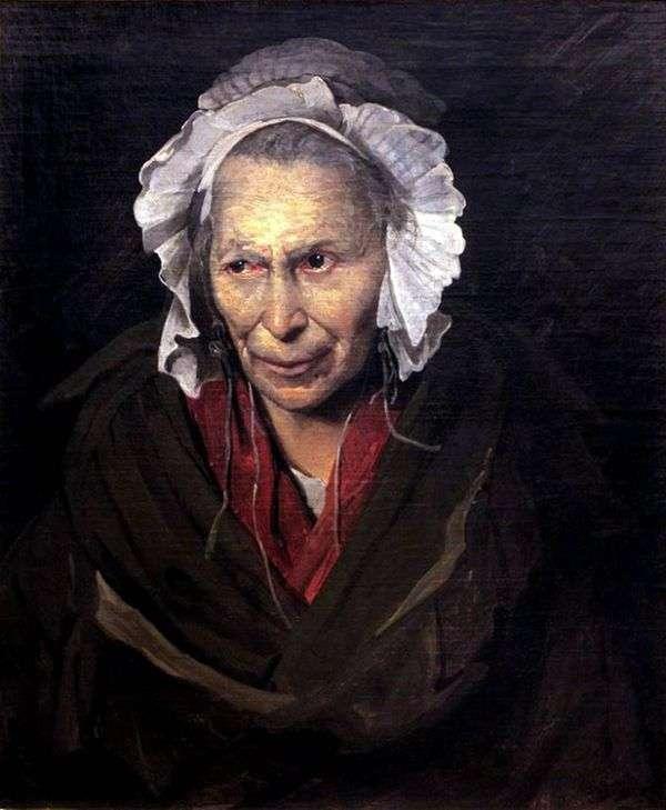 Портрет сумасшедшей   Теодор Жерико