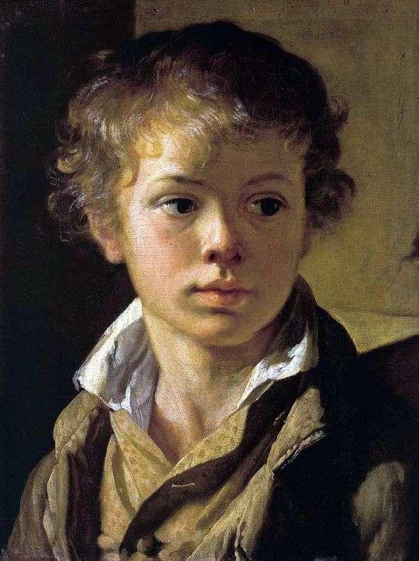Портрет сына художника   Василий Тропинин