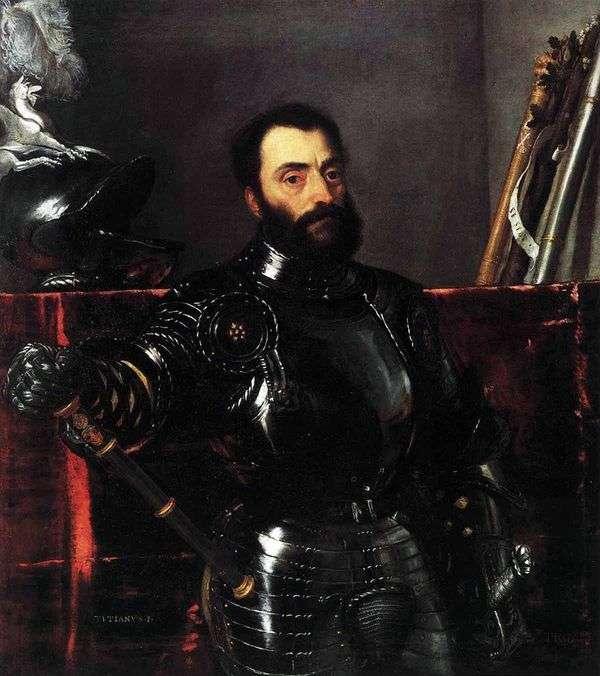 Портрет урбинского герцога Франческо Мариа делла Ровере   Тициан Вечеллио