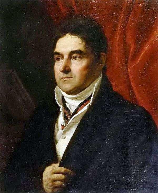Портрет В. С. Хвостова   Орест Кипренский