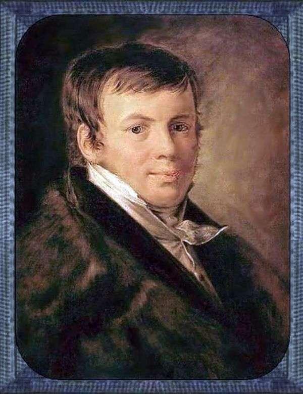 Портрет В. С. Энева   Василий Тропинин