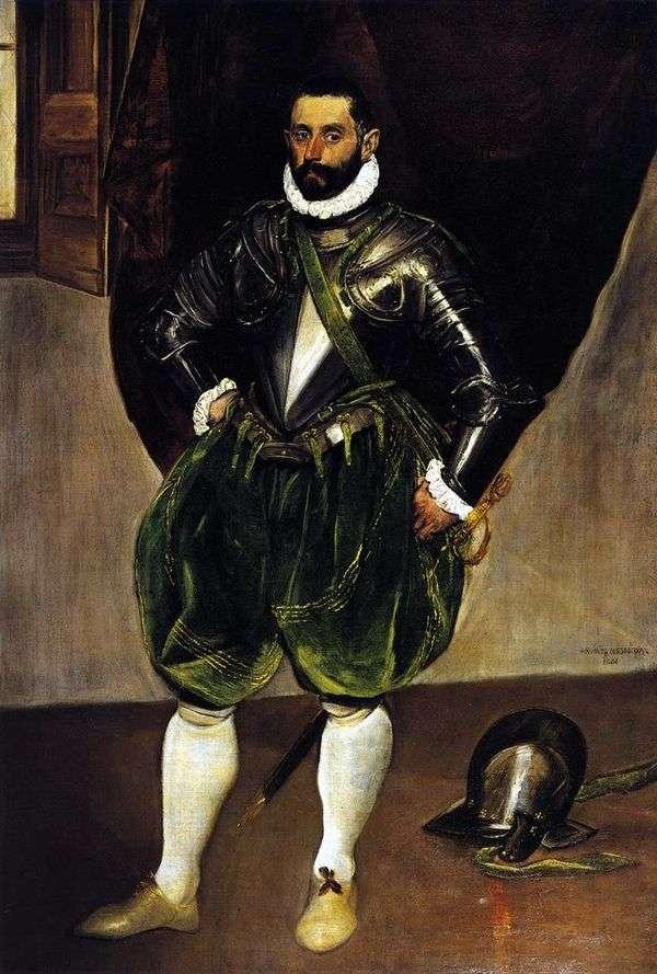 Портрет Винченцо Анастази   Эль Греко