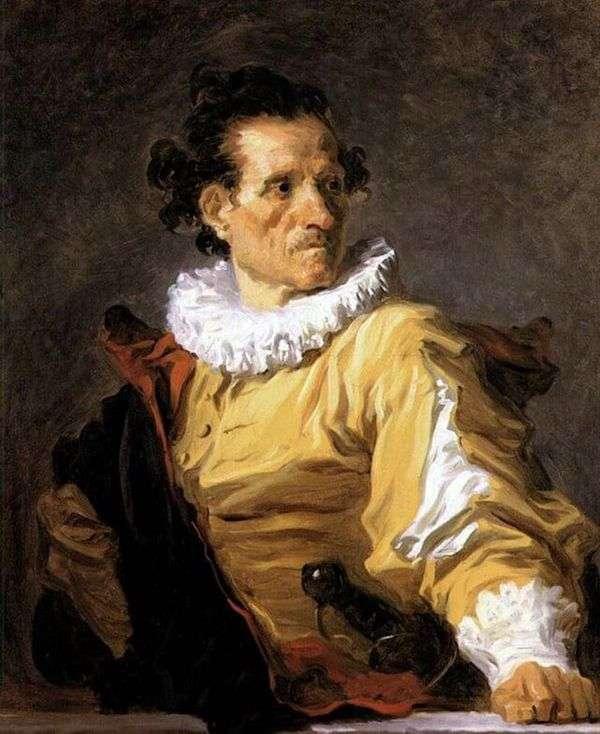 Портрет воина   Жан Оноре Фрагонар