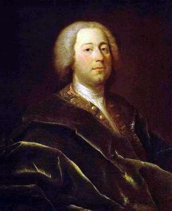 Портрет врача И. А. Ацаретти   Андрей Матвеев