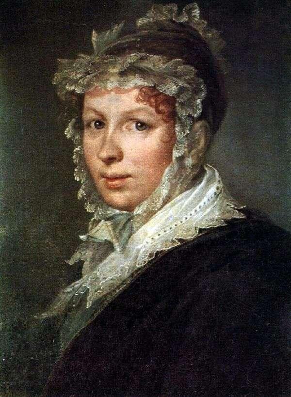 Портрет жены художника   Василий Тропинин
