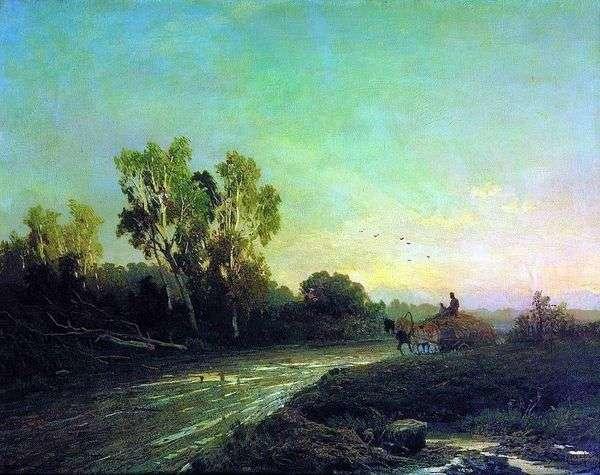 После дождя   Федор Васильев