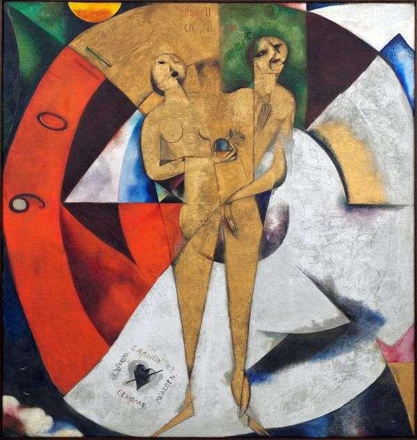Посвящение Аполлинеру   Марк Шагал