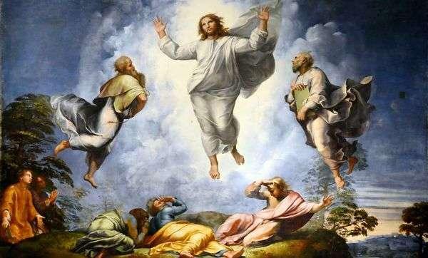 Преображение Христово   Рафаэль Санти