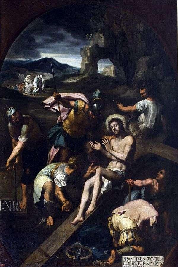 Пригвождение к кресту   Франсиско Рибальта