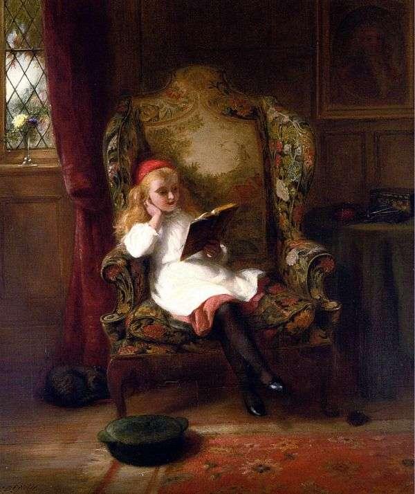 Приятное чтение (детский портрет)   Джордж Бернард ОНил