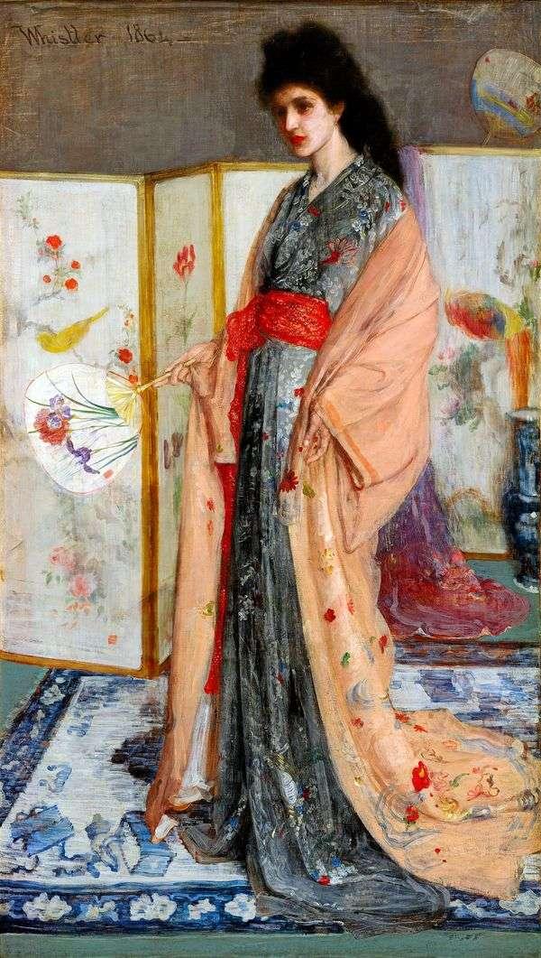 Принцесса из Страны фарфора   Джеймс Уистлер