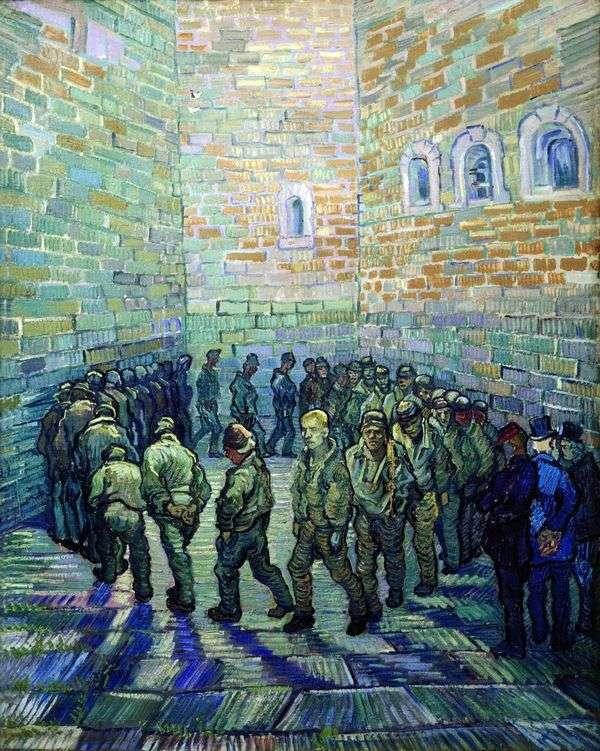 Прогулка заключенных   Винсент Ван Гог