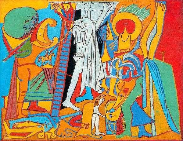 Распятие   Пабло Пикассо