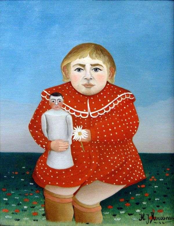 Ребенок с куклой   Анри Руссо