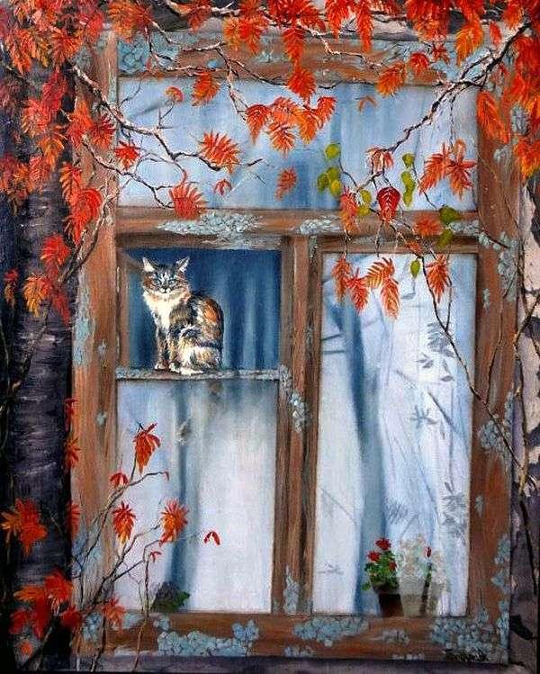 Родное окно   Наталья Гончарова