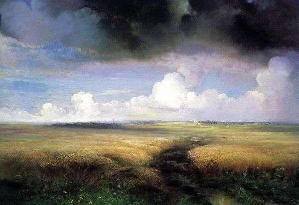 Рожь   Алексей Саврасов