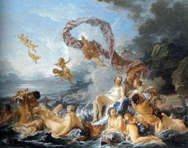 Рождение Венеры   Франсуа Буше