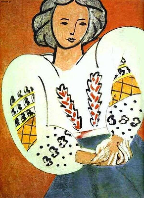 Румынская блуза   Анри Матисс