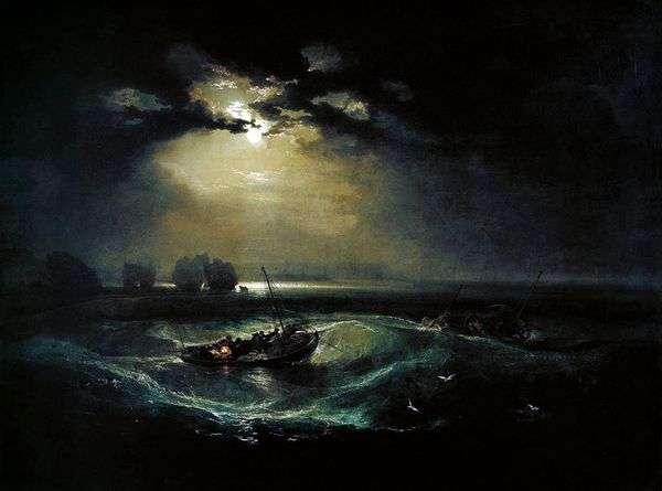 Рыбаки в море   Уильям Тернер