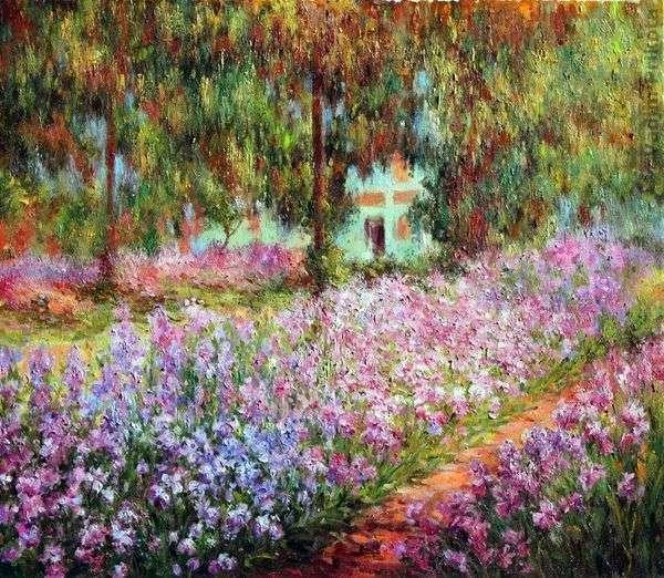 Сад художника в Живерни   Клод Моне