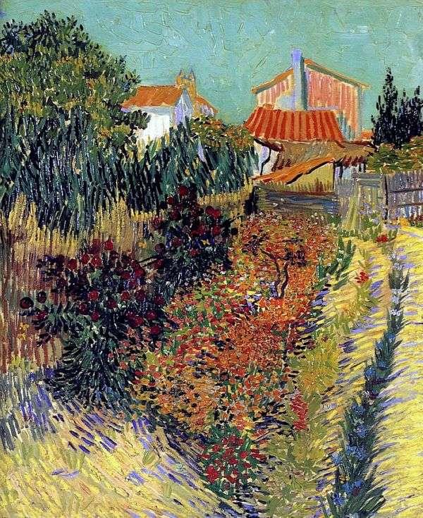 Сад за домом   Винсент Ван Гог
