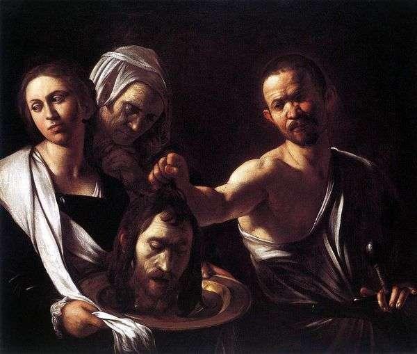 Саломея с головой Иоанна Крестителя   Микеланджело Меризи да Караваджо