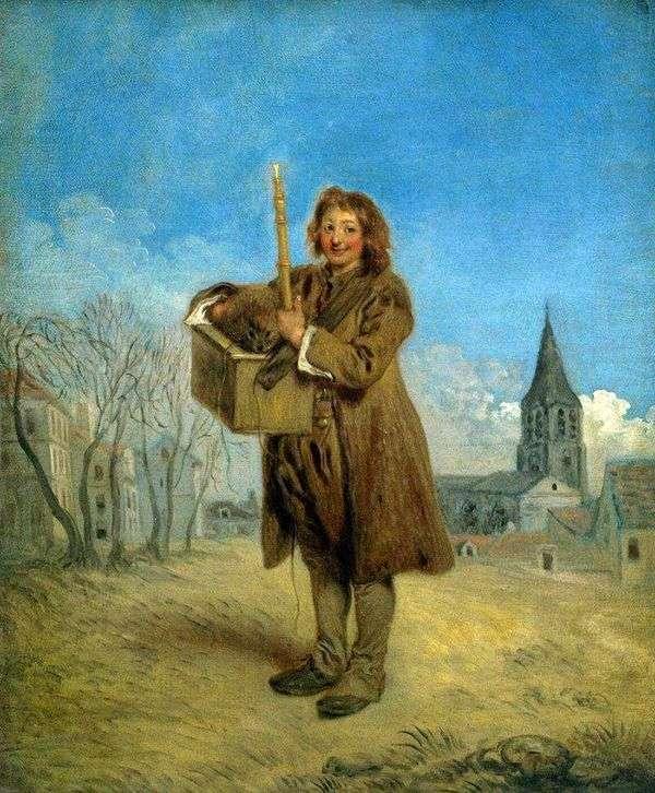 Савояр с сурком   Жан Антуан Ватто