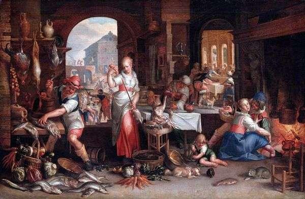 Сцена на кухне   Иоахим Эйтевал