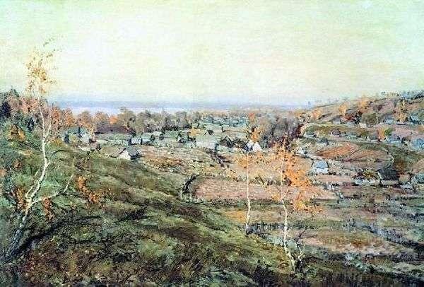 Село Хмелевка   Николай Ромадин