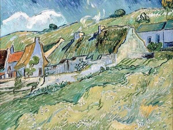 Сельские дома   Винсент Ван Гог