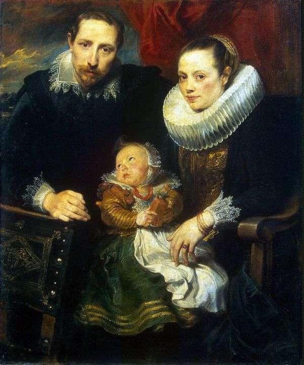 Семейный портрет   Энтони Ван Дейк
