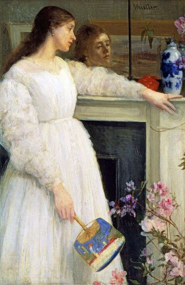 Симфония в белом № 2: девушка в белом   Джеймс Уистлер