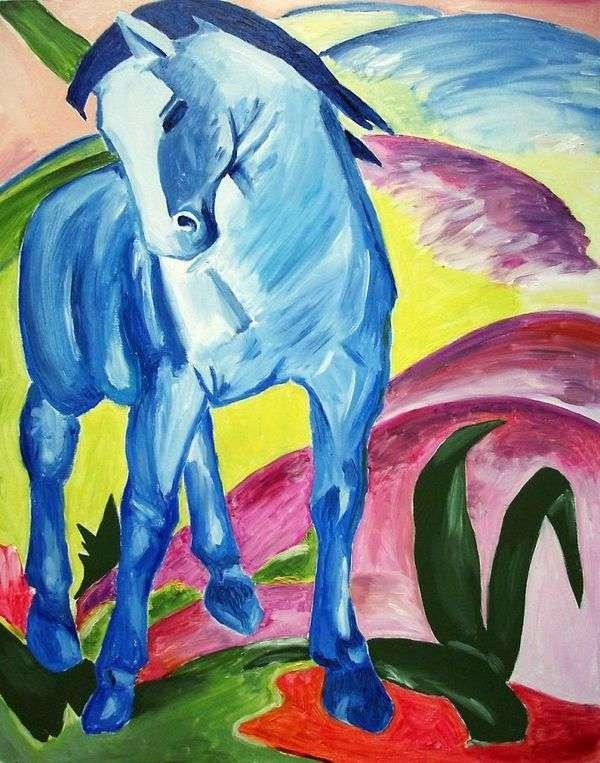 Синий конь   Франц Марк