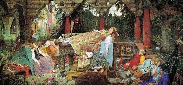 Сказка о спящей царевне   Виктор Васнецов