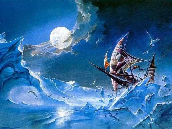 Склоны в ночи. Битва во льдах   Брюс Пеннингтон