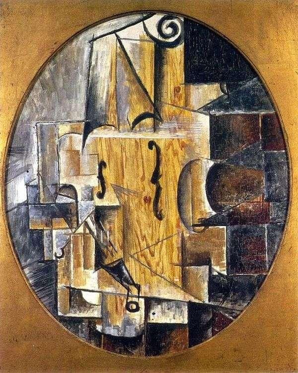 Скрипка   Пабло Пикассо