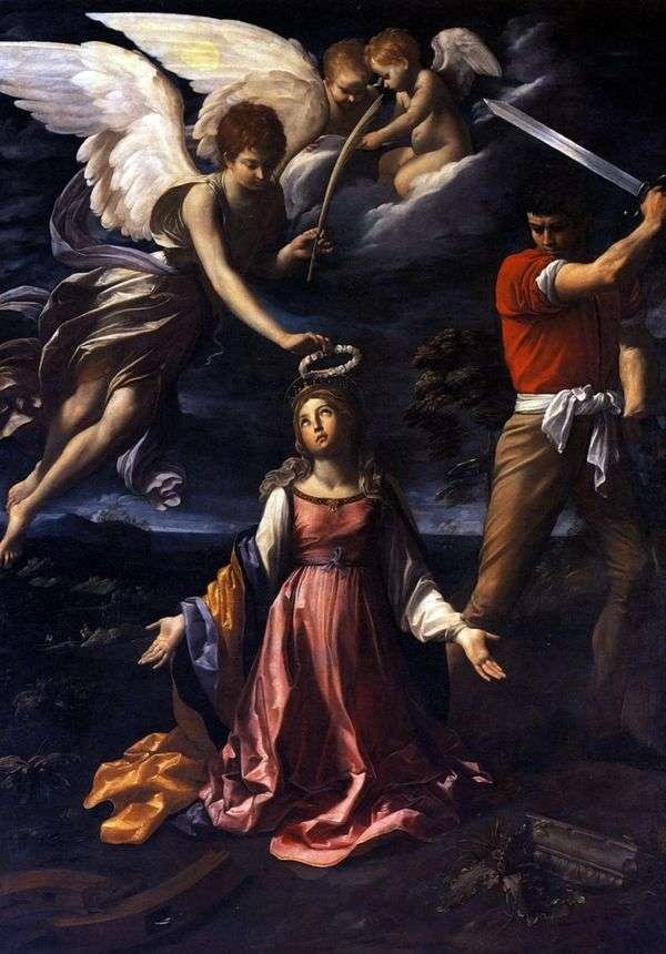 Смерть Екатерины Александрийской   Гвидо Рени