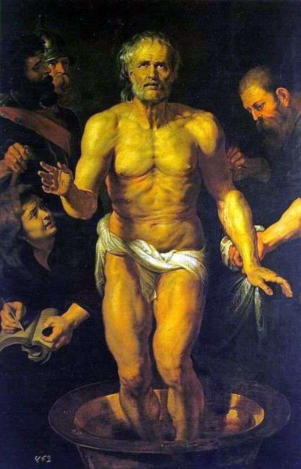 Смерть Сенеки   Питер Рубенс