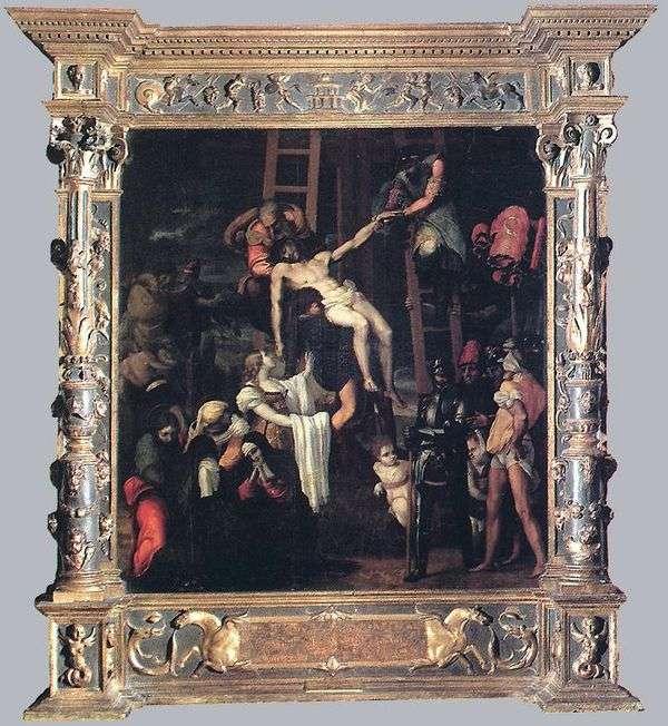 Снятие с креста   Педро Мачука
