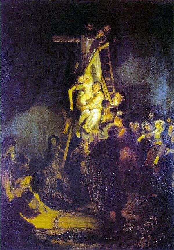 Снятие с креста   Рембрандт Харменс Ван Рейн
