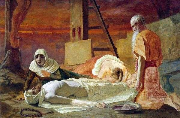 Снятие с креста   Василий Перов