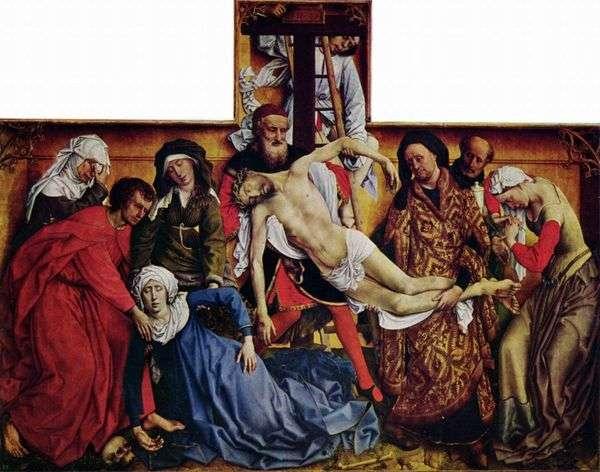 Снятие со креста   Рогир ван дер Вейден