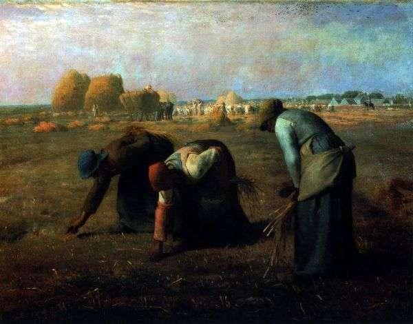 Собирательницы колосьев   Жан Франсуа Милле