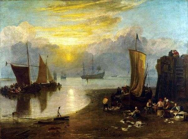 Солнце, встающее в тумане   Уильям Тернер