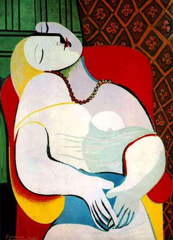 Сон   Пабло Пикассо
