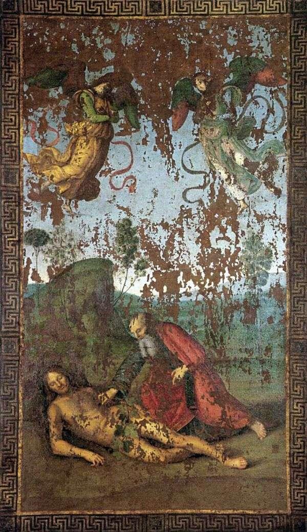 Создание Евы из Адама   Рафаэль Санти