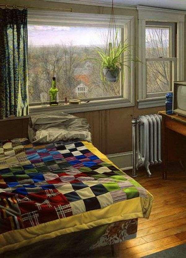 Спальня зимой   Скотт Прайор